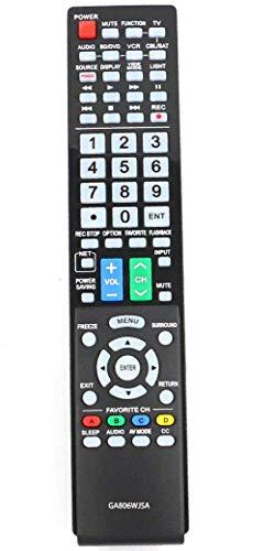 ALLIMITY GA806WJSA Remote Control Replacement for Sharp AQUOS TV LC40LE700UN LC-40LE700UN LC46LE700UN LC-46LE700UN LC52LE700UN LC-52LE700UN