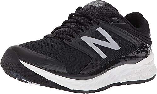New Balance Women's Fresh Foam 1080 V8 Running Shoe, Black/White, 8.5 M US