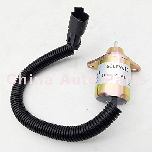 Valves & Parts Stop Solenoid Valve Yanmar Engine Replaces Thermo King TK41-4306