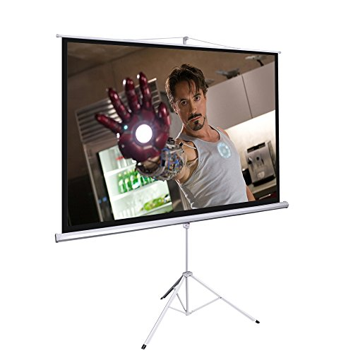 Yescom 100' Electric Motorized Projector Screen Auto with Remote Control 16:9 Movie Screen