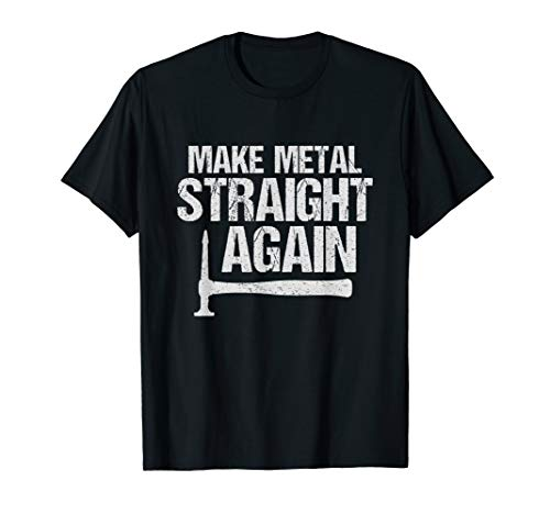 Auto Body Shirt - Make Metal Straight Again for Body Men