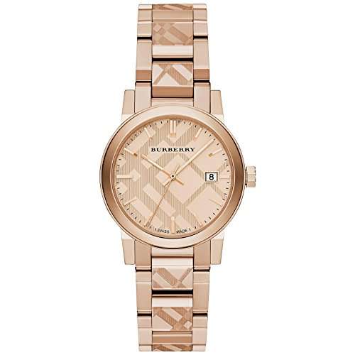 Burberry The City Rose Gold-Tone Ladies Watch BU9146