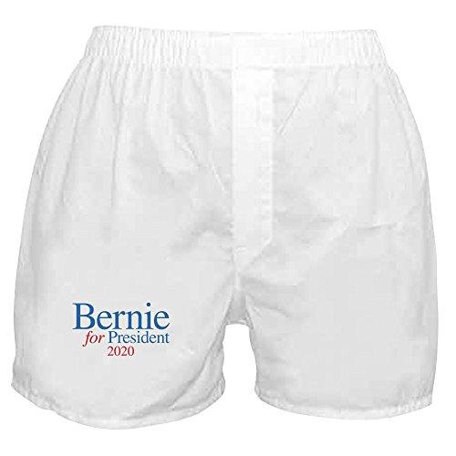 CafePress Bernie 2020 Novelty Boxer Shorts, Funny Underwear White
