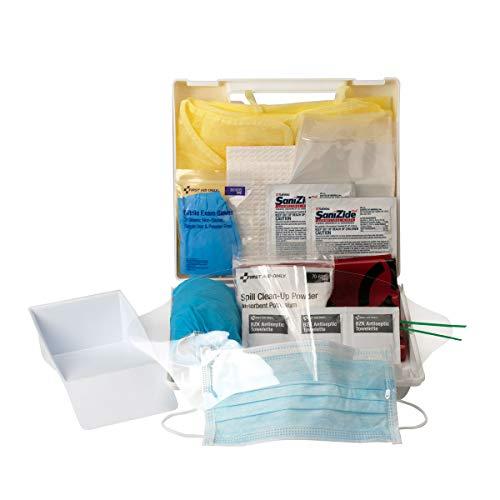 First Aid Only 23 Piece Bloodborne Pathogen/Bodily Fluid Spill Clean Up Kit (214-U/FAO)