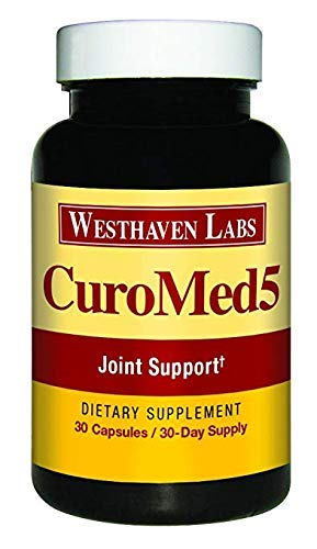 CuroMed5 | Natural Joint Support Formula | Anti-Inflammatory | Pain Relief | Herbal Dietary Supplement | 30 Day Supply