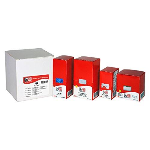 DayMark Safety Systems-I131990 Standard First Aid Kit Refill Package 3, Fingertip Blue Vinyl Bandages, Knuckle Blue Vinyl Bandages, Finger Cots and First Aid/Burn Cream