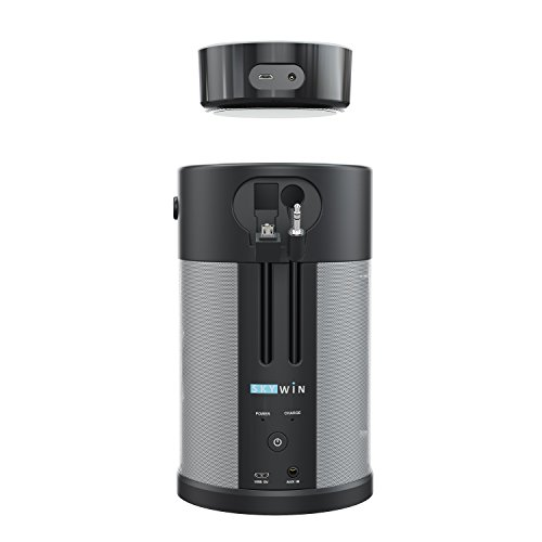 Skywin Wireless Battery Speaker – Portable Speaker and Battery Base for Better Sound Anywhere You Go