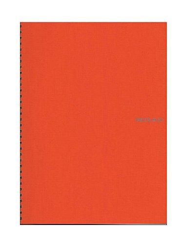 Fabriano EcoQua Notebooks Spiral Blank Orange 8.25 x 11.7 in.