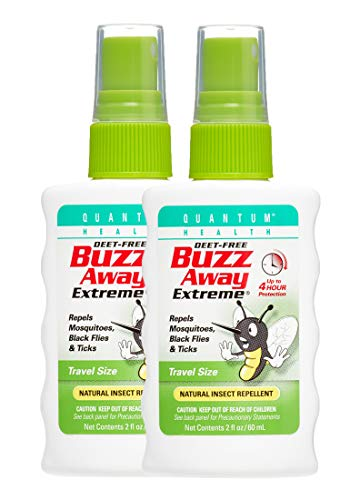 Buzz Away Extreme Natural Insect Repellent - 4 Oz (Pack of 2)