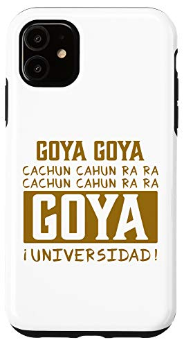 iPhone 11 Goya Goya Cachun Cachun Ra Ra - Playera Aficion Pumas Mexico Case
