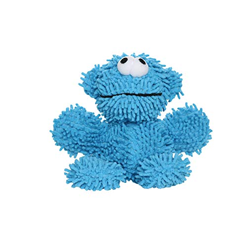 MIGHTY- Microfiber Ball Monster - Made with Squeaker Balls and Minimal Stuffing. Strong & Tough. Interactive Play. Machine Washable & Floats (Junior)
