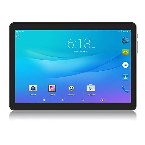 Tablet 10 inch Android Go 8.1 Tablet PC, 3G Phablet with Dual Sim Card Slots, Dual Camera,Google Certified, 1GB RAM, 16GB Storage, 1280X800 IPS Screen,WiFi, Bluetooth,GPS