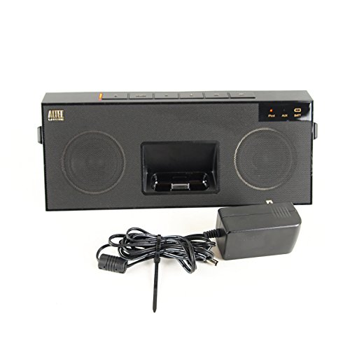 Altec Lansing IMT520BLK inMotion Kick Speaker for Apple iPod and iPhone
