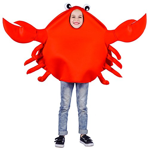 flatwhite Child's Unisex King Crab Costume One Size