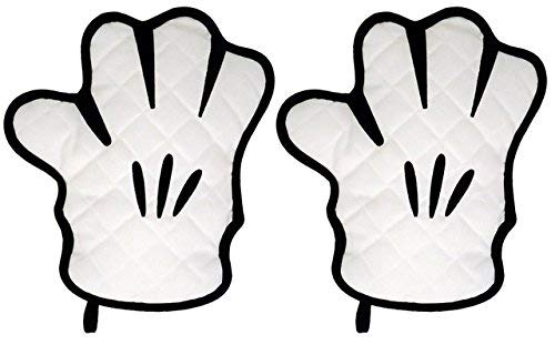 Disney Parks Bundle of 2 Exclusive Mickey Mouse Glove Oven Mitt