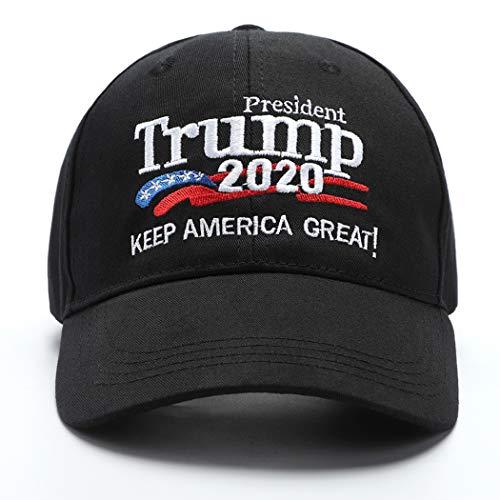 Donald Trump 2020 Hat Keep America Great Hat USA Cap Make America Great Again. Black