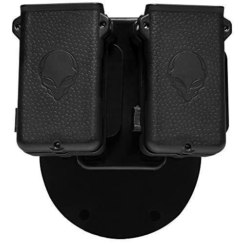 Alien Gear holsters Mag Carrier Double - .45 ACP / 10 mm Double Stack - Comfort - 1.5' Belt Slide