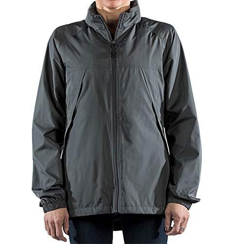 SCOTTeVEST Womens Pack Windbreaker Jacket - Spring Jackets for Women 19 Pockets GRA M1 Gray