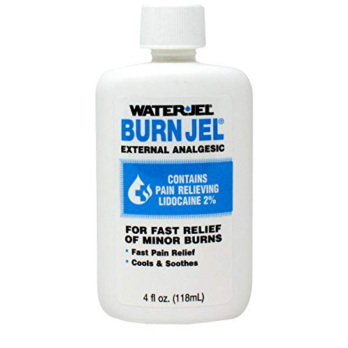 Water Jel Burn Jel Minor Burn Relief Gel Squeeze Bottle 4 oz