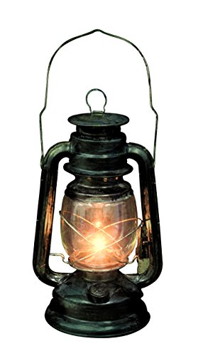 Seasons Rustic Old Fashioned Light Up Lantern, Multi-Colored, One Size