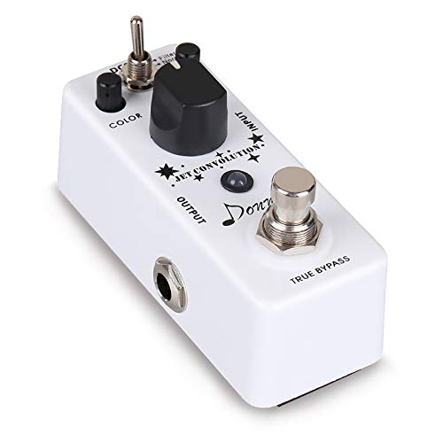 Donner Flanger Guitar Pedal, Jet Convolution Classical Analog Rolling Guitar Effect Pedal 2 Modes True Bypass