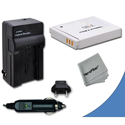 High Capacity Replacement Canon NB-6L / NB-6LH Battery with AC/DC Quick Charger Kit for Canon PowerShot SX260 HS Digital Camera