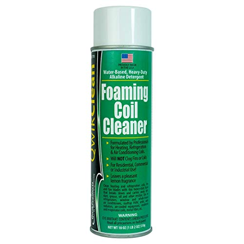 QwikClean Foaming Coil Cleaner