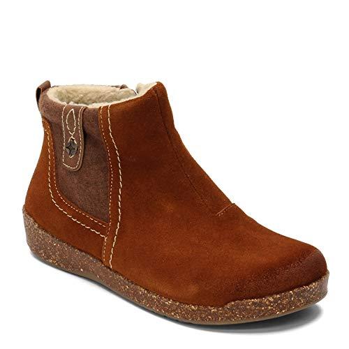 Earth Origins Women's, Aurora Jace Ankle Boot Cognac 9 M