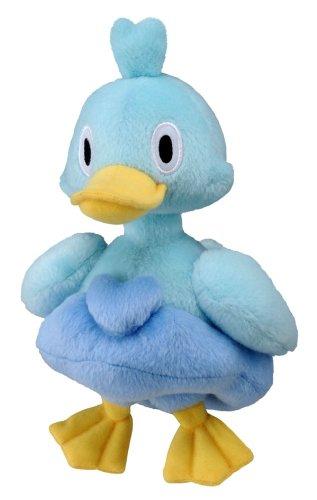 Takaratomy Pokemon Best Wishes Plush Doll - N-28 - Ducklett/Koaruhie