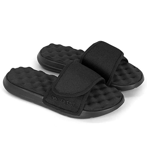 Gone For a Run PR Sole Active Recovery Sandal – Black – Slide Sandals – M11