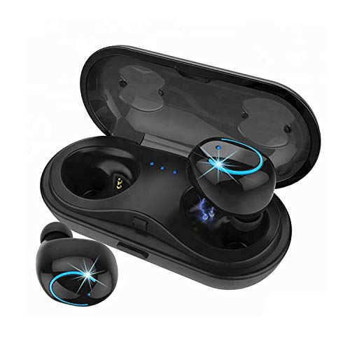 TWS 5.0 Earbuds Touch Bluetooth Headset Headphone with Sound Quality Built-in Mic Auto-Pairing