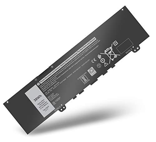 BatteryMon F62G0 Battery for Dell 7370 7373 5370 7380 7386 P91G Vostro 13 5370 13-5370-D1505G Laptop P83G P83G001 P83G002 RPJC3 0RPJC3 39DY5 F62GO