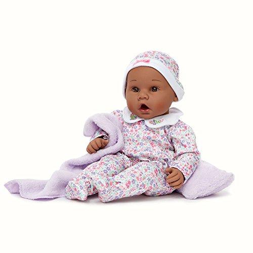 Madame Alexander Middleton Doll Newborn Baby Lavender African American