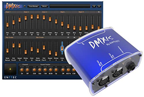 Enttec DMX USB DMXIS 70570 MAC/PC OS Lighting Controller Interface & Software (download only)