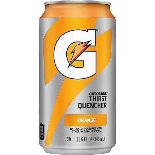 Gatorade Thirst Quencher, Orange, 24 Count, 11.6 oz Cans