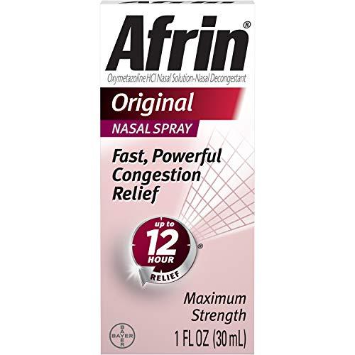 Afrin Original Nasal Spray, 1 OZ (Pack of 6)