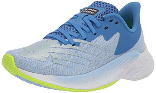 New Balance Women's FuelCell Prism V1 Running Shoe, Blue/Green, 10.5 W US