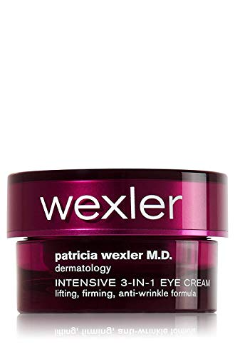 Patricia Wexler M.D. Dermatology Intensive 3-in-1 Eye Cream. Lifting, Firming, Anti-Wrinkle Formula, 0.5 Ounce