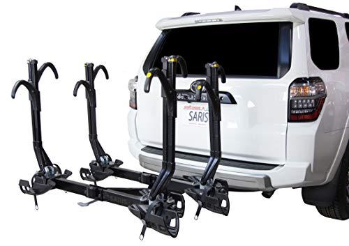 Saris Superclamp Ex 2 Bike Hitch Car Rack , Black