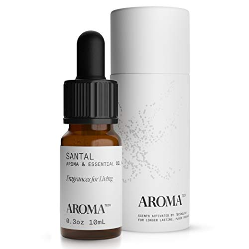 AromaTech Santal for Aroma Oil Scent Diffusers - 10 Milliliter