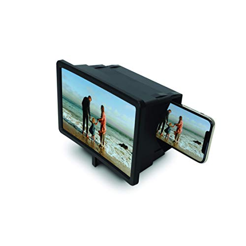 The Big Picture Smartphone Screen Magnifier for Cell Phone That is Two Times Bigger Cell Phone Magnifier 3D Screen Enlarge Video Movie