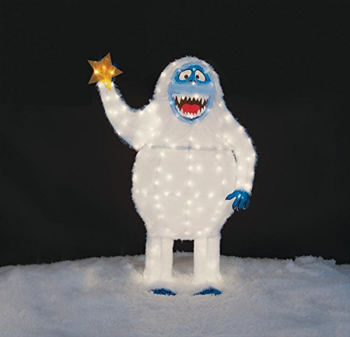 Christmas 54' Tall Tinsel Bumble The Abominable Snowman Outdoor Yard Decoration