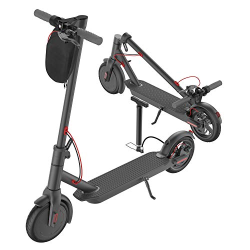 """PROMAX5 APP High Speed Electric Scooter for Adults with 350W Motor 8.5"""" Solid Tires, Cruise Control and 1-Step Portable Folding Scooter for Commute and Travel"""