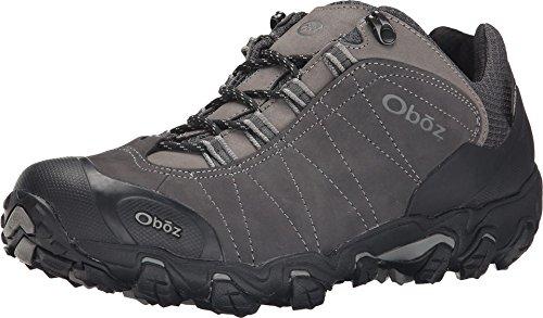 Oboz Bridger Low B-Dry Hiking Shoe - Men's Dark Shadow 8