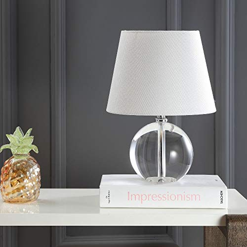 Safavieh Lighting Collection Mable Designer Clear 14-inch Table Lamp