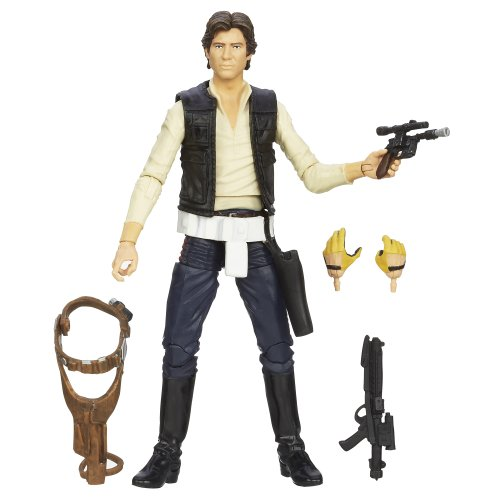 Star Wars The Black Series Han Solo Figure 6 Inches