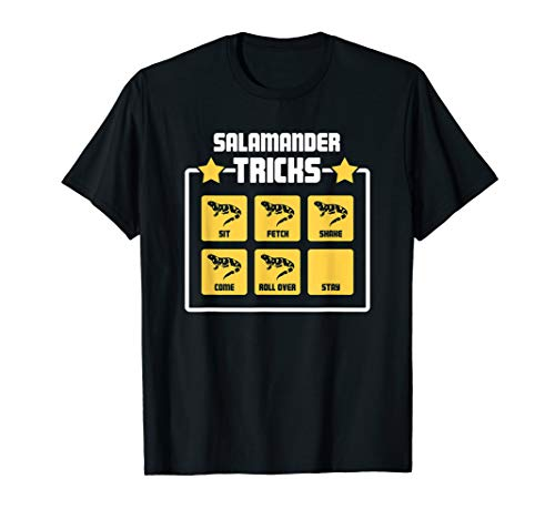 Tiger Salamander T-Shirt / Pet Salamander Amphibians - Funny