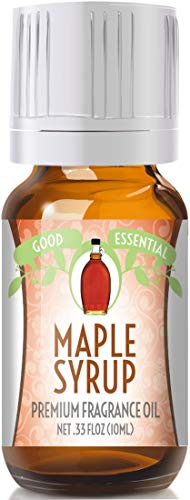 Maple Syrup Scented Oil by Good Essential (Premium Grade Fragrance Oil) - Perfect for Aromatherapy, Soaps, Candles, Slime, Lotions, and More!