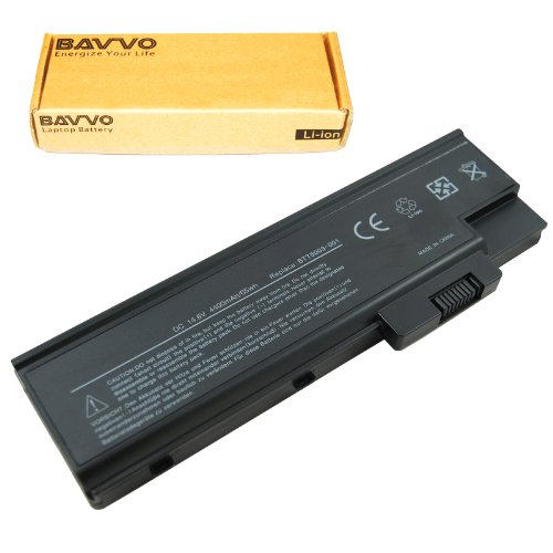 Bavvo 8-Cell Battery Compatible with ACER Aspire 3000 3001 3002 3003 3004 3005 3500Series 3502 3503 3505 3508 3509 3510 5000Series 5001 5002 5003 5004 5005