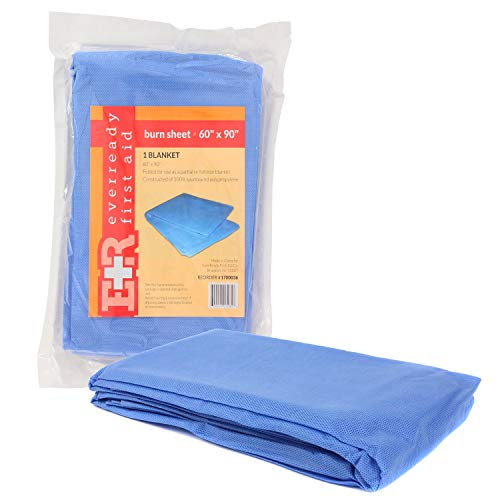 Ever Ready First Aid Sterile Burn Sheet Blanket - 60' x 90'
